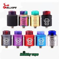 Wholesale wholesale terminal - Original Hellvape Dead Rabbit RDA Atomizer Top Terminal Four Post Build Deck Tank For 510 Thread Box Mods from healthyvaping