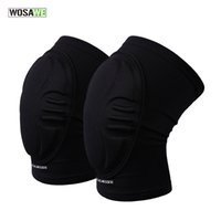 Wholesale bike brace - Wosawe Eva Knee Pads Dancing Skiing Basketball Volleyball Extreme Sports Kneepad Guard Brace Support Bike Cycling Protector Gear
