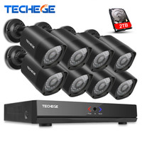 Wholesale home security cctv kit for sale - Group buy 8CH NVR P IP Network PoE Video Record M HD CCTV Security Camera System Outdoor Home video Surveillance kit XMeye