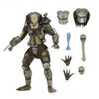Wholesale predator toys - NECA Predator Series Classic Predator Limb Joints Movable Children Fun PVC Action Figure Garage Kit Model Toy 100dt W