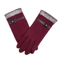 ipads groihandel-Mode Screen-Handschuhe Stylus Glove für iOS Androids Ipads Tabletten für Telefon-Grip Fahren Während Warm 5 Farbe warme Handschuhe Aufenthalt