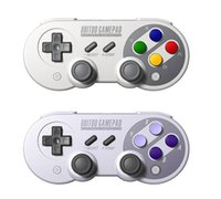 Wholesale F Android - Wireless Classic Joystick Bluetooth USB-C 8Bitdo SF30 Pro   SN30 Pro   SNES30 Controller Dual Pc for iOS Android Gamepad PC F-JYP
