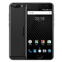 Wholesale tri sim mobile phones - Ulefone T1 5.5 Inch 6GB+64GB Smartphone Android 7.0 Octa Core 4G Helio P25 Smartphone Fingerprint 16.0MP Mobile phone 3680mAh