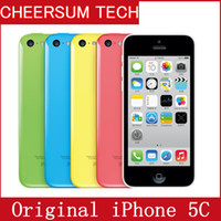 "Wholesale Factory Refurbished Cameras - 100% Factory Original Unlocked Apple Iphone 5c Smartphone 4.0"" Dual Core WCDMA IOS Multi-Language16GB 32GB optional Dual Core"