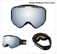 500659033aa 3PCS Set BSCI Certificated TPU Frame Ski Cycling Glasses Double Layer UV400  Anti-fog Snowboarding Goggles Adult Homme Femme JH-G023