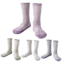 Wholesale grey wool socks - Winter Thicken Wool Outdoor Climbing Hiking Ski Socks Camping Keeping Warm Sports Socks For Women Men Wholesale H103S