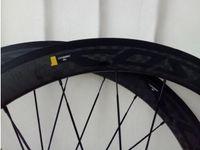 Wholesale factory hub - Factory sale COSMIC 700c 50mm carbon clincher wheels 60mm 12K matte wheelset bicycle wheels road fiber 38mm   88mm AWST powerway wheel hubs