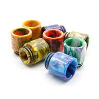 Wholesale wholesale vape accessories - TFV12 Prince Resin Drip Tip TFV8 Wide Bore Resin Mouthpiece 810 Resin Drip Tip Vape E cig Accessories 528 RDA DHL Free