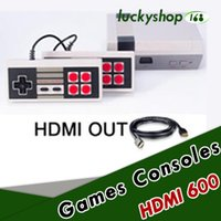 Wholesale F Videos - 50X Coolbaby HD HDMI Out Retro Classic Game TV Video Handheld Console Entertainment System Classic Games For NES Mini Game F-JY