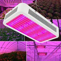 flores colgantes led al por mayor-400W Grow LED Lámpara de planta de interior Luz de invernadero Fruta y verdura / Flor Luces Planta Línea colgante Lámpara Espectro completo