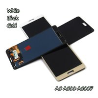 Wholesale samsung galaxy a5 screen assembly for sale - 10 pieces AAA DHL For samsung Galaxy A5 A5 phone screen assembly display A500 A500F A5000 LCD touch screen