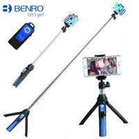 tragbare telefonhalterung großhandel-Mini-Stativ mit Handyhalterung Tragbares Selfie-Kamerastativ Einbeinstativ für iPhone X 7 Canon Nikon