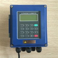 medidor de vazão ultra-sônico venda por atacado-Medidor de vazão ultra-sônico medidor de vazão de líquido na parede IP67 proteção TUF-2000B DN50mm-DN700mm Transdutor TM-1