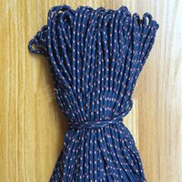ingrosso corda in nylon di bracciale-Corda tessuta fatta a mano di 100M / lot 3mm per il braccialetto di DIY dei gioielli che fa il nylon intrecciato le corde della corda della corda all'ingrosso