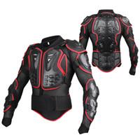 ingrosso vestito nero da corsa del motociclo-Giacca da uomo all-in da corsa da uomo all-round da uomo New Fashion Black and Red Giacca da moto Full Body Armor M-4XL