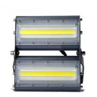 Wholesale outdoor linear lighting - DHL Free Shipping 100Lm w Epistar LED COB Floodlights IP65 Waterproof Outdoor Linear Projector Lamp Light Combination floodlight AC85-265V
