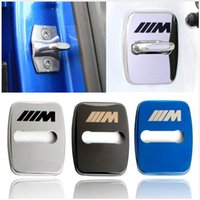 Wholesale m1 cases - Car Styling door lock cover case For BMW Series X1 X3 X4 X5 X6 M1 M3 Accessories