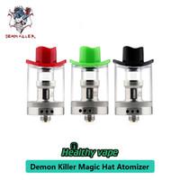 пищевая проволока оптовых-100% оригинал Demon Killer Magic Hat RTA атомайзер 5 мл сетка проволочная катушка Vape танк для 510 нить пищевой PCTG