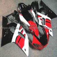 ingrosso yzf r1 blu-Kit di carrozzeria per motocicli 23colors + 5Gifts per Yamaha YZF-R1 98-99 YZF R1 1998-1999 Kit per carrozzeria di plastica ABS