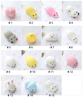Wholesale retail novelty toys resale online - Animal Vent Toy Cute Panda Duck Rabbit Anti Stress Ball Novelty Fun Antistress Squeezing Finger Exercise Stress Toy Color Random