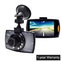 cam record toptan satış-2.7 inç LCD Araba Kamera G30 Araba DVR Çizgi Kam Full HD 1080 P Video Kamera ile Gece Görüş Döngü Kayıt G-sensör