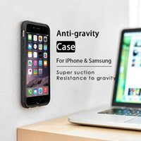 Wholesale KISSCASE Anti Gravity Case For iPhone X S Plus XS Max Cases Phone Cover For Samsung Galaxy S6 S7 Edge S8 S9 Plus Note