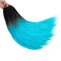 Wholesale three tone braiding hair resale online - Mtmei hair Synthetic Ombre Braiding Hair inch Jumbo Braids Two and three Tone heat resistant Hair Extensions