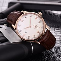 Wholesale leather belts for wrist watch online - Luxury watch for men Automatic watch designer mechanical watches genuine leather belt Chronometer Wrist watch color new style