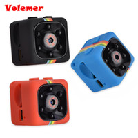 поддержка цифровых оптовых-SQ11 Мини-камера HD 1080P ночного видения видеокамера автомобильный видеорегистратор инфракрасный видеорегистратор Спорт цифровая камера поддержка TF карта DV