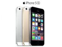 celular de celular desbloqueado venda por atacado-Original 4.0 polegadas iphone 5s ios 11 sistema apple iphone5s a7 16 gb / 32 gb / 64 gb com impressão digital desbloqueado telefone móvel remodelado telefones celulares