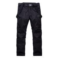 Wholesale Women S Pink Ski Pants - Wholesale- Unsex Woman or Man Snow pants outdoor sports snowboarding Trousers waterproof windproof winter warm outdoor Bibs Ski Belt pants