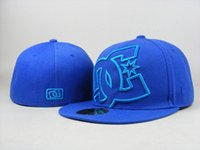 Wholesale cheap black top hats - Cheap wholesale DC fitted snapbacks basketball team hats football baseball caps 2018 outdoor sports caps top quality headwears factory price