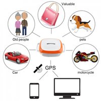 Wholesale car gps for sale - mini gps tracker locator GT011 Waterproof Mini GPS Tracker Locator with WIFI Real time GSM GPRS Tracking Device for Car Motorcycle Elderly
