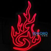 tiras de led flexibles de china al por mayor-Custom LED Neon Strip Cartas de Diseño 12 V Neón Luminoso Chino Bendecido Fu Palabra Nudo Linterna Fuego Resplandeciente Festival de Año Nuevo Regalos