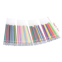 Wholesale pastel stationery for sale - Group buy NoEnName_Null High Quality Set Colors mm Gel Ink Pen Refills for Glitter Metallic Neon Pastel Stationery