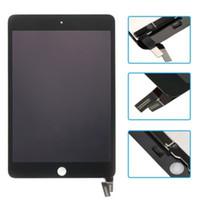 ingrosso mini sostituzione ipad mini digitizer-Assemblaggio digitalizzatore touch screen per display LCD sostitutivo bianco / nero per iPad mini 4 A1538 A1550