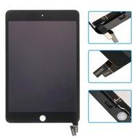 ipad mini digitalizador substituição preto venda por atacado-Branco / preto display lcd substituição touch screen digitador assembléia para ipad mini 4 a1538 a1550