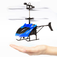 Wholesale new channel rc helicopters for sale - Group buy New Arrival RC Helicopter Flying Induction LED Noctilucent Ball Quadcopter Drone Sensor Up grade infrared Induction flying Children Toys