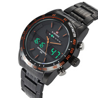 Wholesale alarm water resistant watch for sale - Group buy wengle New NAVIFORCE Men sport casual Multifunction Alarm Calendar date day Water Resistant Water Proof LED Stopwatch Dual Time Quartz watch