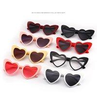 f7295633f6b72e 2018 amour coeur lunettes de soleil femmes rétro mignon oeil de chat vintage  cadeau de Noël dames rose rouge coeur forme lunettes de soleil uv400
