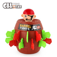 Wholesale gadget boy - Kids Funny Gadget Pirate Barrel Game Toy Children Lucky Stab Pop Up Toy For Boy And Girl Gift Cute Kids Toy