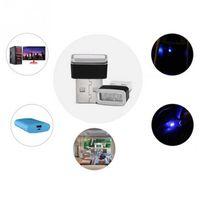 Wholesale car lights for sale - MINI USB Car Atmosphere Lights LED Cigarette Lighter Decorative Lights Lamp