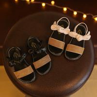 ingrosso vendita di scarpe da tennis per neonati-Designer Estate Bambini Scarpe Bambina Sandali Alta qualità Baby Girl Sneakers Toddler Beach Shoes For Children Vendita