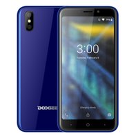 Wholesale doogee phone online - Original Doogee X50L G Smartphone MTK6737 Quad Core quot GB MP Dual Rear Camera Android Phone GPS unlocked Mobile Phone