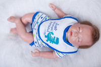 Wholesale 24 inch figure - 20 Inch Simulation Of Baby Soft Plastic Vinyl Real Life Reborn Doll Custom-Made Doll Life-Like Cute Doll