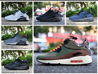 Wholesale Patchwork Cushions - 002 Best Quality Mens Sneakers Shoes classic 90 Ultra 2.0 Men Running Shoes Black White Trainer Air Cushion Breathable Walking Sports Shoes
