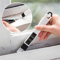 Wholesale roller door wholesales for sale - Cleaning Brush Multipurpose Kitchen Toilet Doors Windows Groove Keyboard Dusting Crevice Brushes With Dustpan Creative bx V