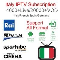 ingrosso migliori tacchini-Miglior Stabile Italia IPTV italia 4000+ PayTV Free Smart TV + Albanese Turchia UK Tedesco USA IPTV per Android Box Enigma2 Smart TV PC Linux