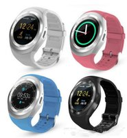 smart phone samsung uhren großhandel-2018 heißer Verkauf Y1 Bluetooth Smartwatches für Android Smartwatch Samsung Handy Günstige U1 Smart Uhren Uhr Bluetooth für Apple iPhone