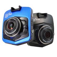 ingrosso migliori registratori-La migliore fotocamera mini Dvr per auto Dashcam GT300 Full HD 1080P Registratore video G-Sensor Night Vision Dash Cam Blackbox